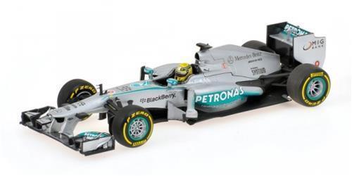 Mercedes F1 W04 N. Rosberg 2013 Minichamps 1 18 110130009 Model