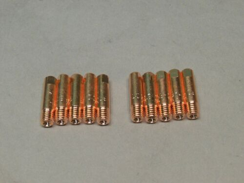 """10 HTP Replacement .023/"""" Contact tips Klutch Mig 140SI 220SI 200DV"""