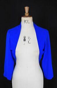con giro blu Coprispalle Knight a collo di velluto Baylis in scuro in chiffon dtrwq1Y6w