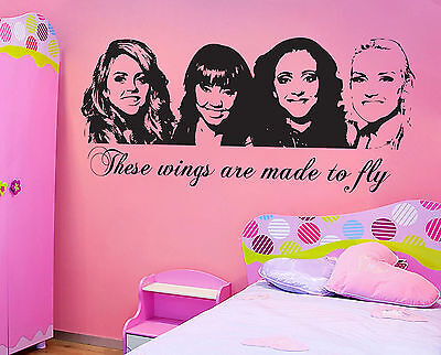 Little Mix Wall Sticker Children S Bedroom Contemporary Transfer Ebay