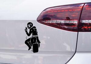 Motorrad Aufkleber Peace Zeichen Auto Tuning Sticker Motorsport