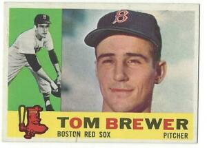 TOM-BREWER-1960-Topps-439-VG-VGEX-MLB-Boston-Red-Sox-VINTAGE