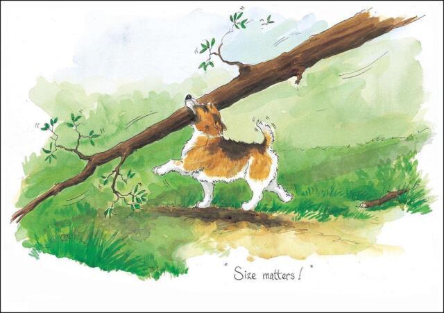 Alison/'s Animals Golden Retriever Dog Lovers Blank Birthday Art Greeting Card
