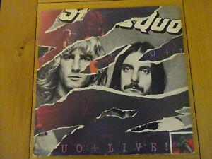 STATUS-QUO-LIVE-Double-Vinyl-LP-RECORD-Album-1977-Gatefold-Sleeve