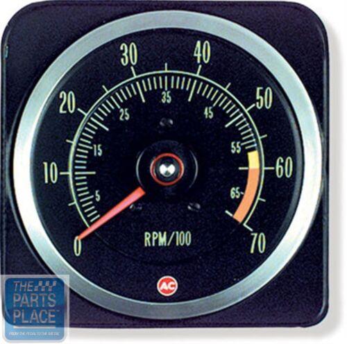 1969 Chevrolet Camaro SS 396 Dash Tach Tachometer 6000 RPM 7000