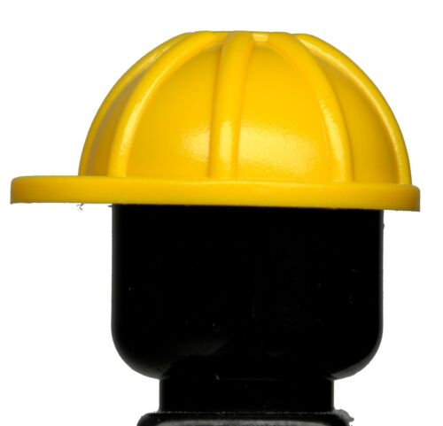Construction Helmet Yellow x 5 Worker Goon Headgear Town NEW LEGO