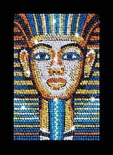 Sequin Art Orange 1606 Tutankhamun