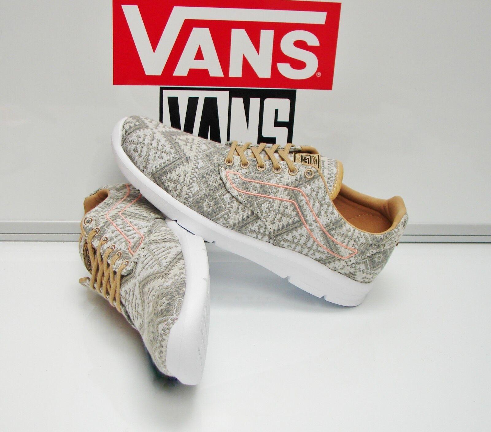 Vans Iso 1.5 Mgoldccan Geo Tan White VN0A2Z5SJXQ Men's Size  7.5