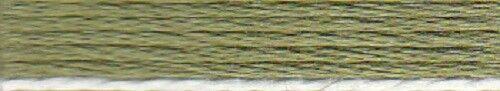 Anchor Stick Twist 6 fädig 8 m 100/% algodón verde oliva 266