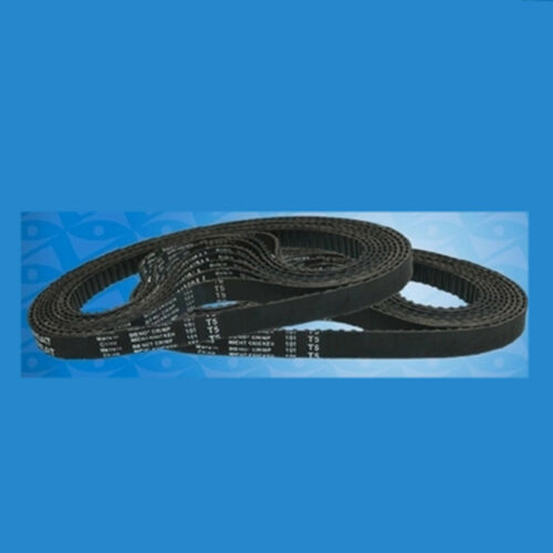10mm Width T5-720//740//860//870//1100//1260//1300 Black Rubber Timing Belt 5mm Pitch