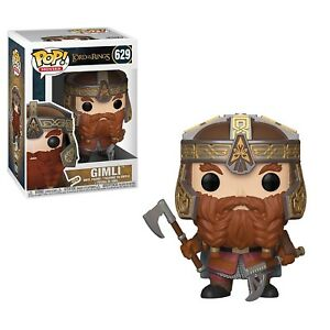 Funko-Lord-Of-The-Rings-POP-Gimli-Vinyl-Figure-NEW-In-Stock-Movies