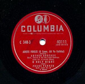 ARTHUR-GODFREY-and-Friends-on-1953-Columbia-40111-Adeste-Fideles-Three-More
