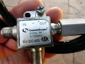 Details about COMMSCOPE SV-DC-6G T-Type Directional Coupler, DC coupler  2-way splitter Xfinity