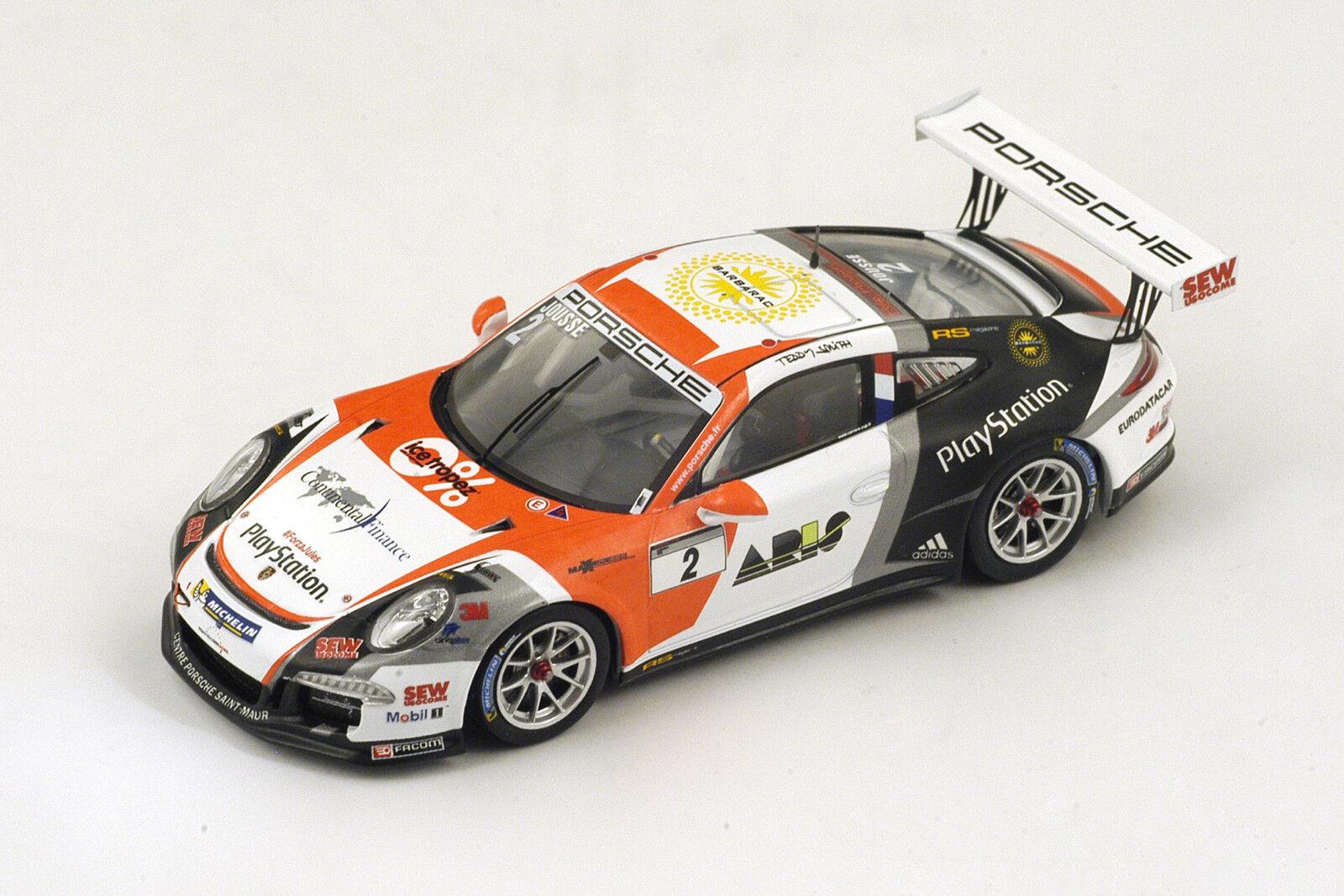 Porsche 911 991 gt3 Cup-Jousse-c1 a pccf paul  rivoitured 2014 - 1 43 spark sf082  économiser 60% de réduction