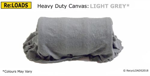 N LIGHT GREY /'Canvas/' Tarped Covered Sheeted Model Road /& Railway Load Z Scale