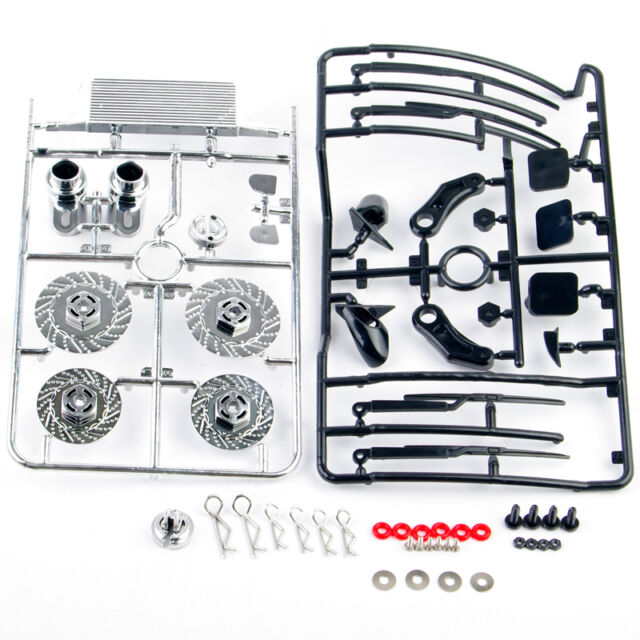 Plastic Dummy Brake Disc Accessories for 1/10 RC Racing On-Road Drift Moder Car