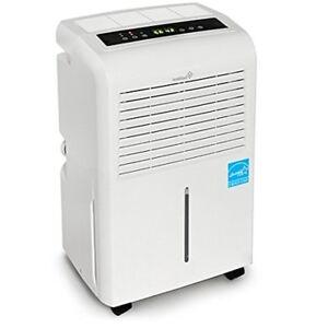 Ivation 30 Pint Energy Star Dehumidifier - Includes Programmable Humidistat