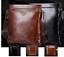 New-Men-Women-Brown-Black-Leather-Business-Work-Satchel-Handbag-Shoulder-Bag thumbnail 1