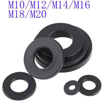 M8 M10 M12 M14 M16 M20 Clear Nylon Plain Washers Flat Washer Fit Bolts Screws