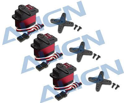 3 Pack Align DS430M Digital Servo HSD43001 T-Rex 450L (DS415M HSD41501 Upgrade)