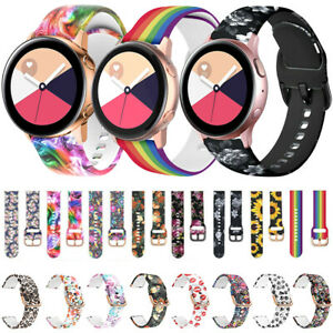 Silicone Sport Strap For Samsung Galaxy Watch 3 45mm Active 2 40 44mm Watch Band