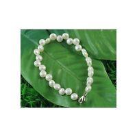 Lot 8 6 Bridal Bride White Elegant Genuine Freshwater Pearl Bracelets