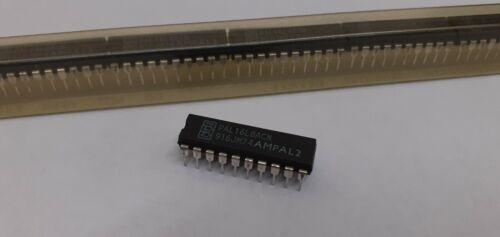 10 x New PAL16L8ACN Programmable Array Logic