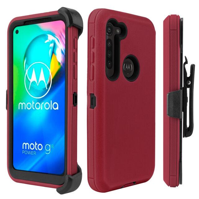 For Motorola Moto G Stylus G8 Power Play Plus Hybrid Holster Stand Case Cover Ebay