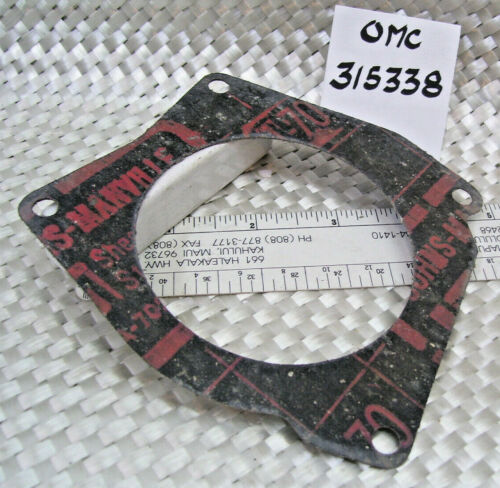 Single P# 315338 // OMC: Gasket 4209 .