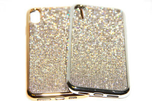 sports shoes 8d842 d7d2a Bling Diamond Case For iPhone X XS Max XR 7 8 Plus Made With ...
