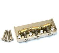 Wilkinson Short Nickel Compensated 3-saddle Bridge For Fender Tele® Tb-5126-001