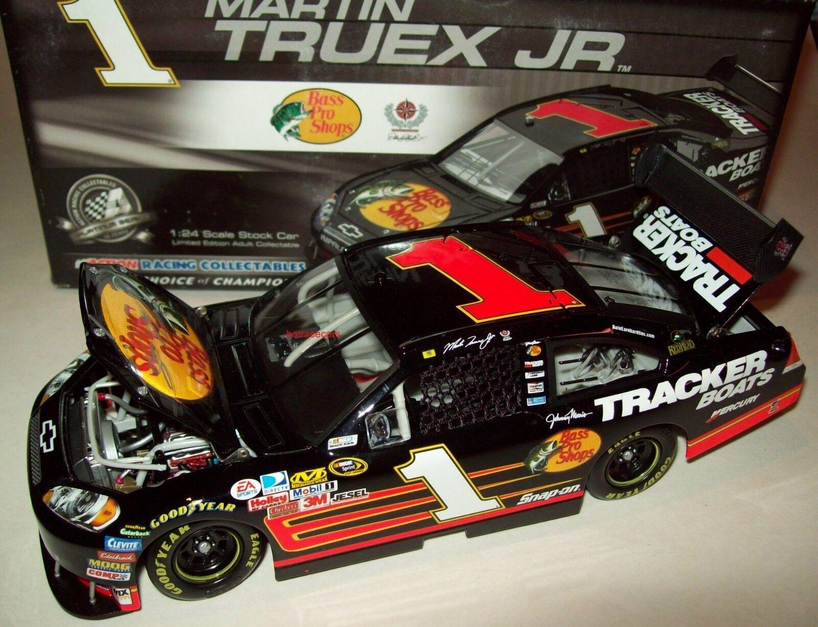 Martin Truex Jr 2008 Bass Pro Shops Signed Autograph Chevy Impala SS 1 24