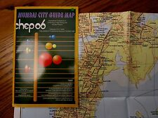 City of Mumbai, India map  - Fold Out Street Map - 2006
