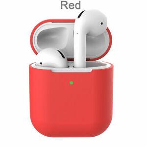 Custodia-Cover-Auricolari-Silicone-Tpu-per-Apple-Airpods-Generazione-1-2-Rosso