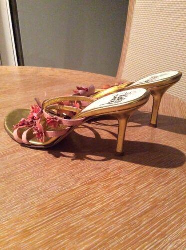 Size Pfirsich 5 7 Pink Koralle Fancy M Floral Sexy Heel High Wills Riemchensandalen zUnSHCnY