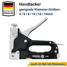 5000 Tackerklammern 6//8//10//12//14 mm Typ 53 Klammer Hefter Handtacker Tacker Büro