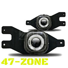 For Ford F250 F350 F450 F550 Excursion Halo Clear Projector Lens Fog Light Lamp