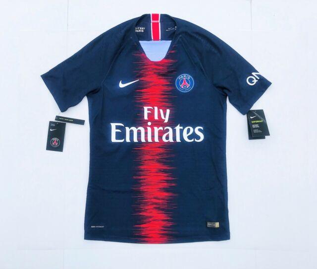 new arrival 18e1b b151d Nike PSG Paris Saint Germain Vaporknit Soccer Jersey Small 2018/2019