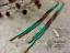 7-034-Extra-Long-Green-Beaded-Earrings-Ombre-Shoulder-Dusters-Long-Seed-Bead-Earring thumbnail 2