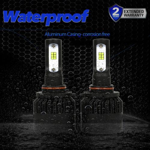 9005 HB3 Seoul LED CSP 72W 8000LM 6000K White Kit Headlight High Beam Bulbs