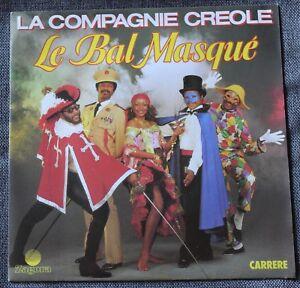 La-Compagnie-Creole-le-bal-masque-le-marche-de-Marie-Galante-SP-45-tours