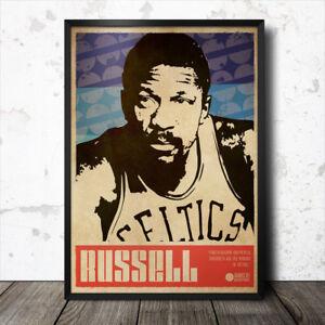 Bill-Russell-Basketball-Sports-Art-Poster-Boston-Celtics