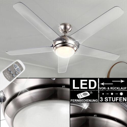 DEL Ventilateur plafond salon salle Ventilateur Avec Télécommande Couloir Lampe Éclairage