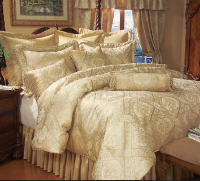 13 Piece Gold Imperial Bed in a Bag
