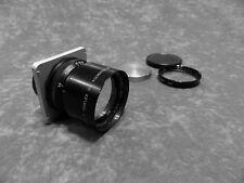 """Graflex Tele-Optar 5.6/25cm 10"""" 250mm lens for 2 1/4 x3 1/4 Speed Graphic Camera"""