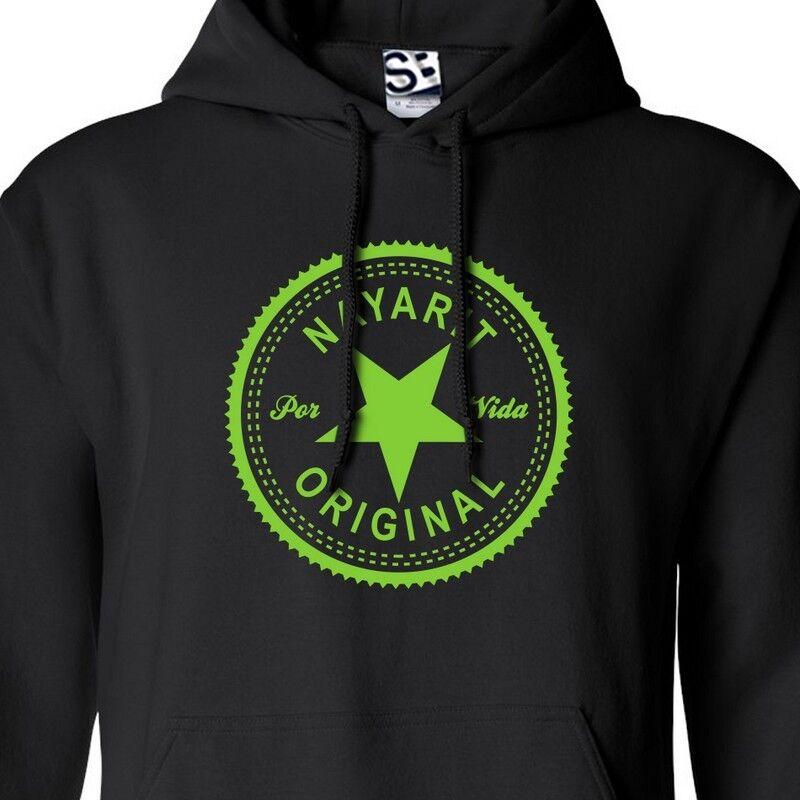 Nayarit Original Inverse HOODIE Hooded Sweatshirt Hecho En Por Vida - All Farbes