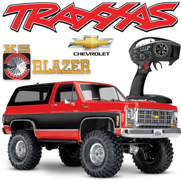 Traxxas Trx 4 Chevy K5 Blazer Red 4wd Rtr Rc Rock Crawler Scale