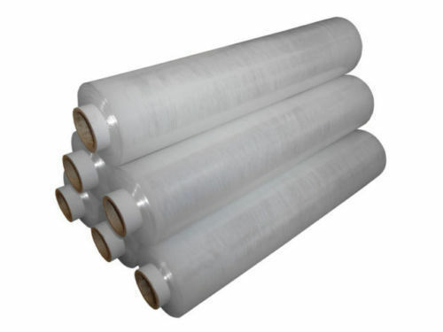 Strong Pallet Wrap Shrink Wrap 400 mm x 200 m Clear Non-Extended 34 mu Sp offer