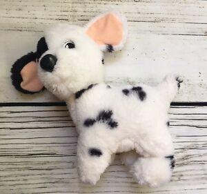 Vintage 90s 101 Dalmatians Plush Patch Dog Stuffed Animal Puppy Disney Mattel