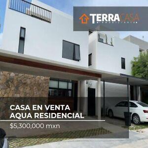 CASA EN VENTA RESIDENCIAL AQUA BY CUMBRES CANCUN